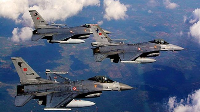 Turkish Airstrikes destrey18 Daesh terrorists in Syria