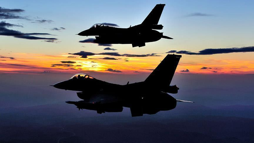 Turkish airstrikes kill 16 terrorists in Hakkari