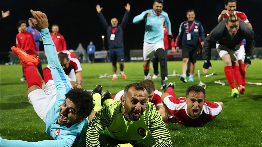 Turkish amputee team reach final at European tournament