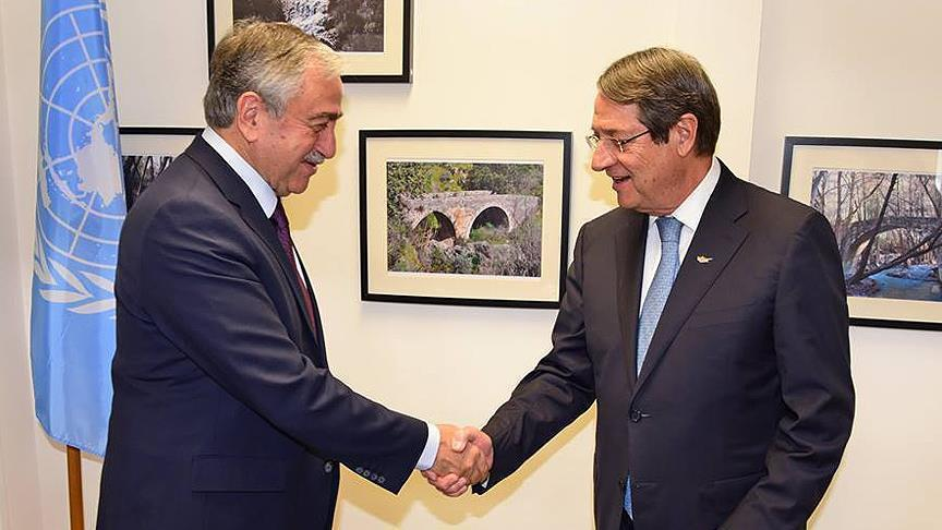 Turkish Cypriot president congratulates Anastasiades