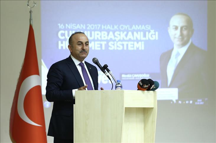 Turkish FM Cavusoglu: Turkey will never give up on TRNC