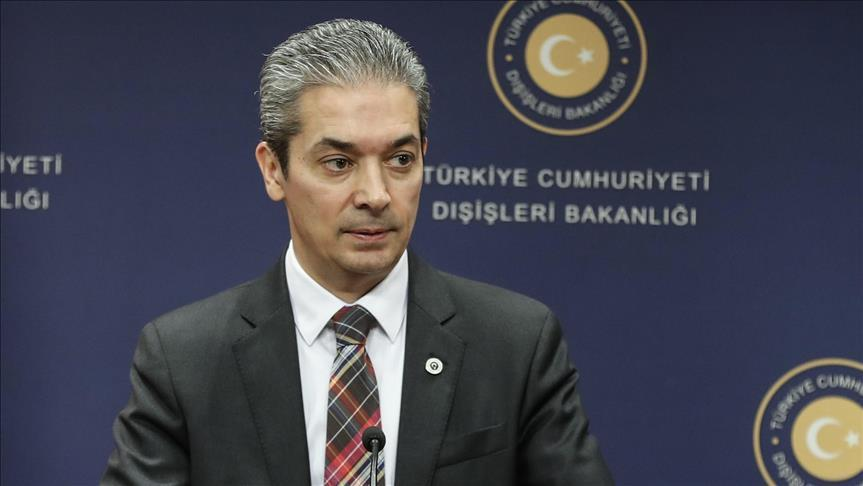 Turkish FM spokesman slams remarks of Greek minister