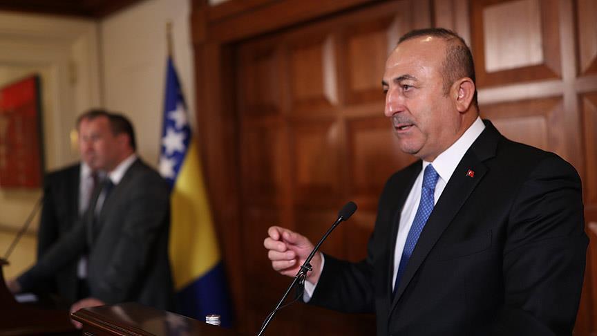 Turkish FM: US arming terror group YPG