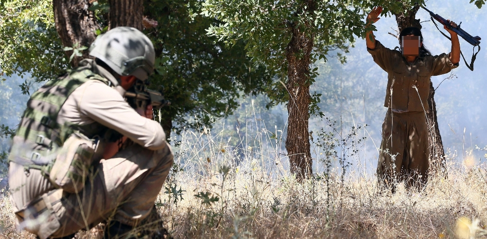Turkish Forces neutralize nine PKK terrorists