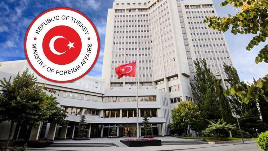 Turkish Foreign Ministry condemns Armenian attacks against Azerbaijan