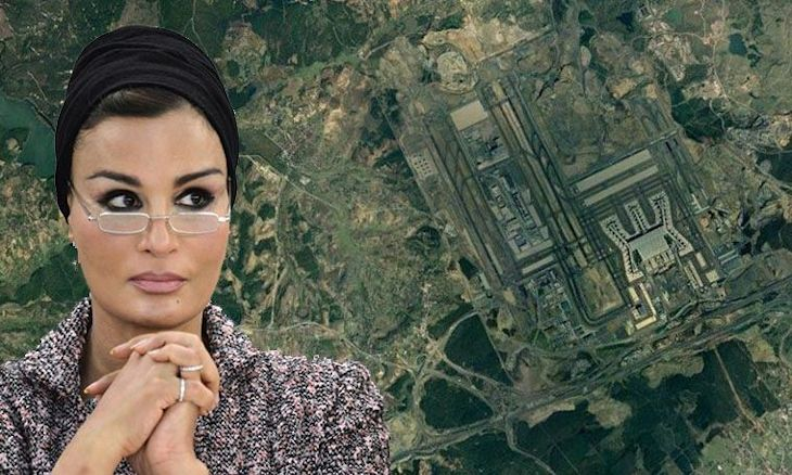 Turkish gov't designates Sheikha Moza's land on Kanal Istanbul route as 'tourism-trade area'