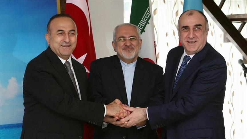 Turkish, Iranian, Azerbaijani FMs to meet in Baku