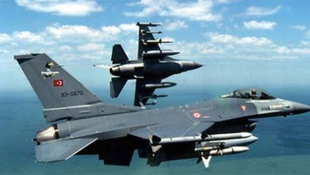 Turkish jets destroy 2 PKK targets in Qandil