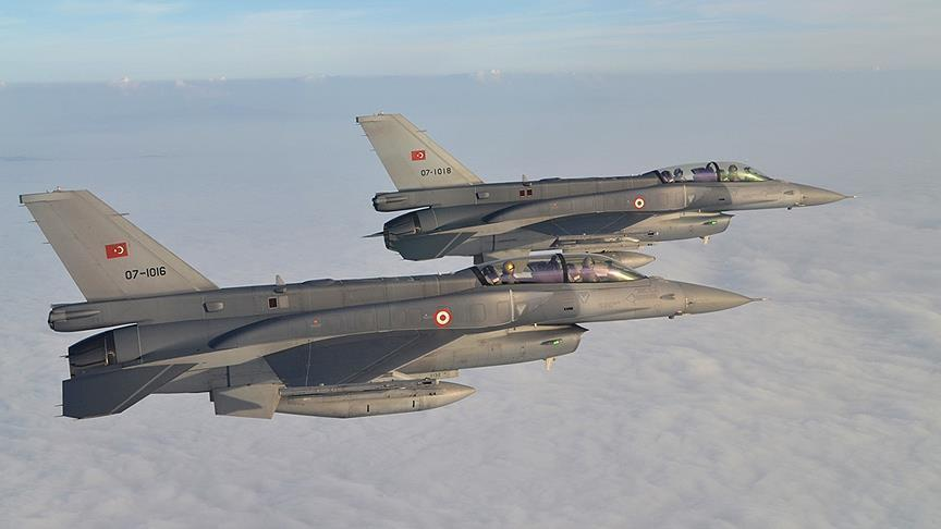 Turkish jets hit PKK positions in southeast