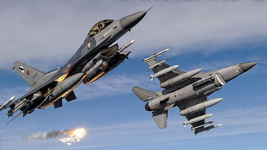 Turkish jets hit terrorist targets in northern Iraq
