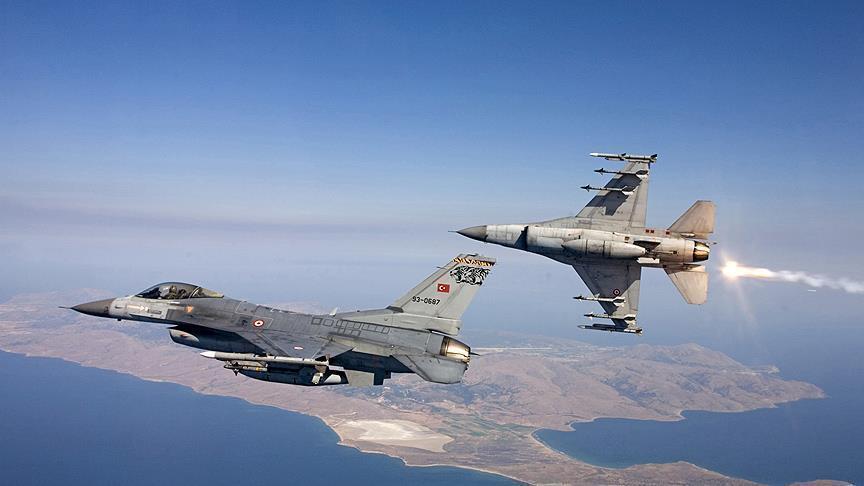 Turkish jets kill 4 PKK terrorists in northern Iraq