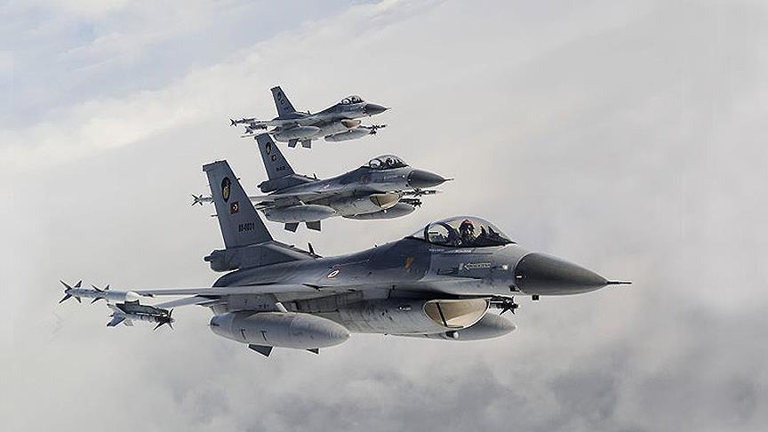 Turkish jets kill terrorists in Iraq's zap