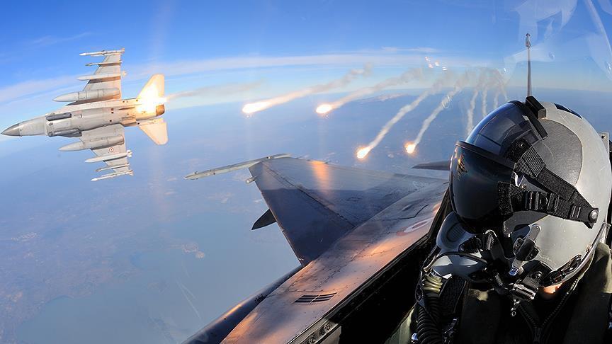 Turkish jets killed 200 PKK/PYD terrorists