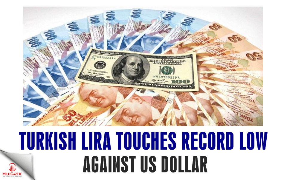 Turkish Lira touches record low against US dollar