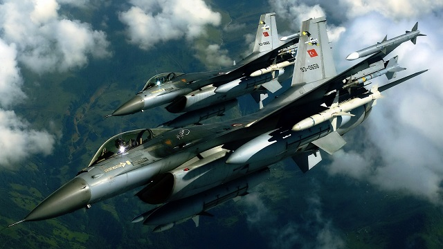 Turkish military hits almost 100 Daesh targets in Syria