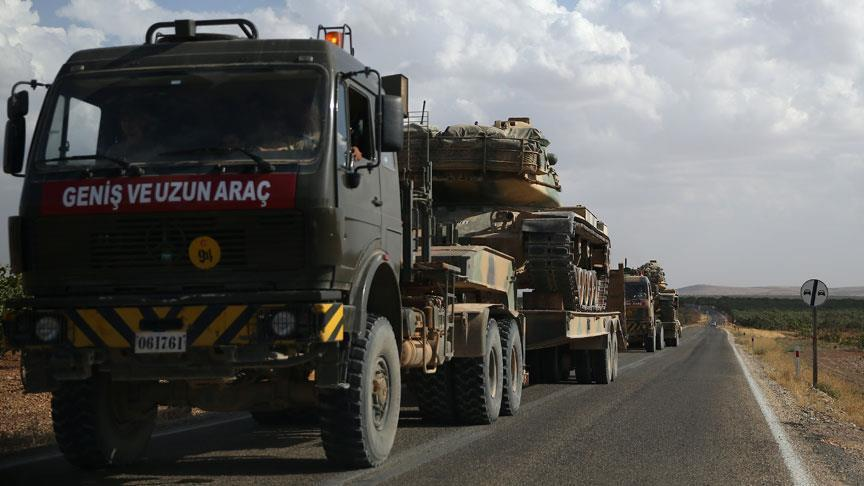 Turkish military sends tanks near to Iraqi border