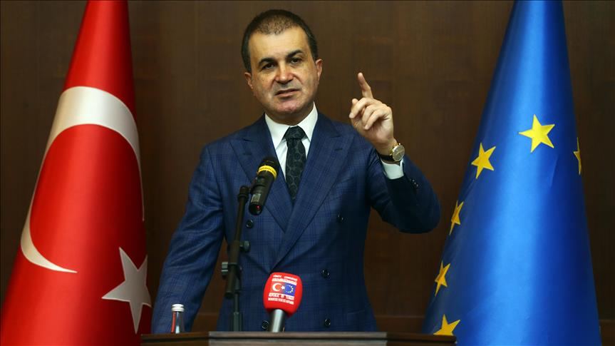Turkish minister slams EU 'double standards' on PKK