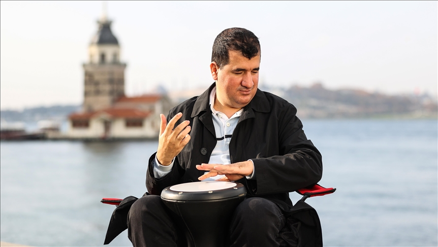 Turkish musician hopes to play darbuka for Joe Biden