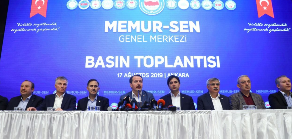 Turkish NGO reacts to government's new hike offer to the civil servants and retirees