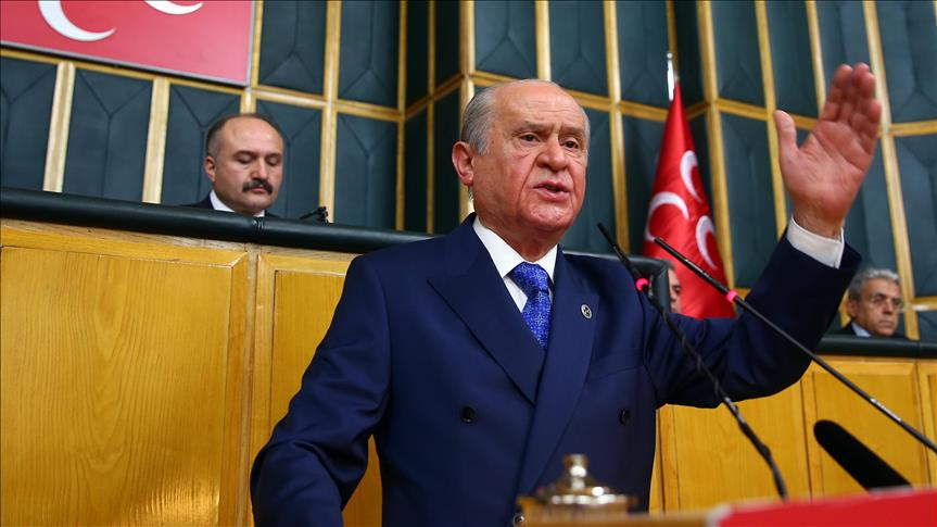 Turkish opposition MHP finishes constitution bill review