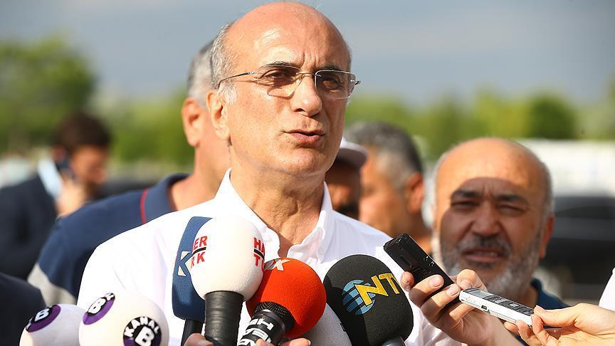 Turkish opposition official discharged from hospital