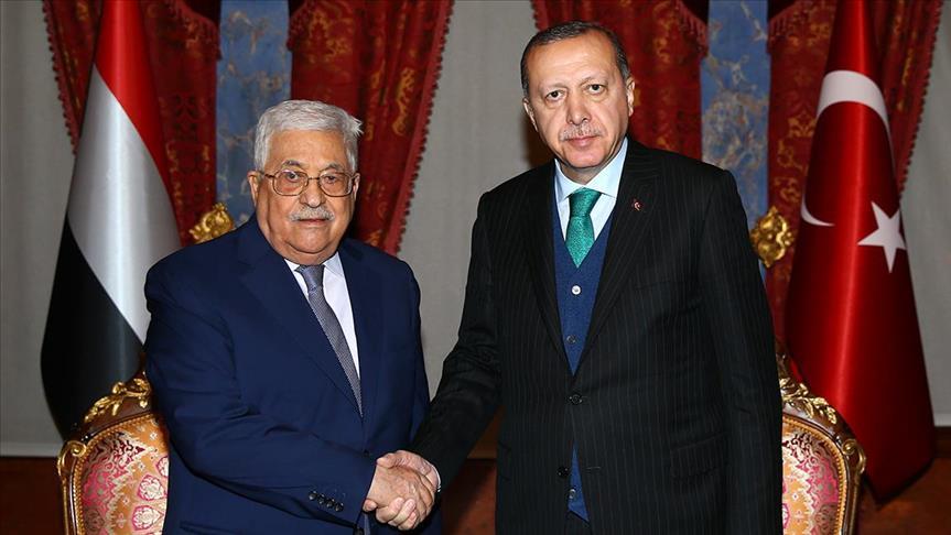 Turkish, Palestinian presidents meet in Istanbul