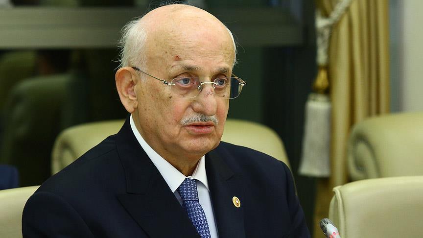 Turkish parliament speaker taken to hospital