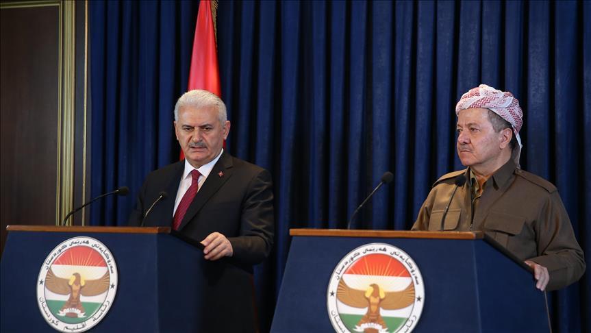 Turkish PM: Daesh, PKK in Iraq 'unacceptable'