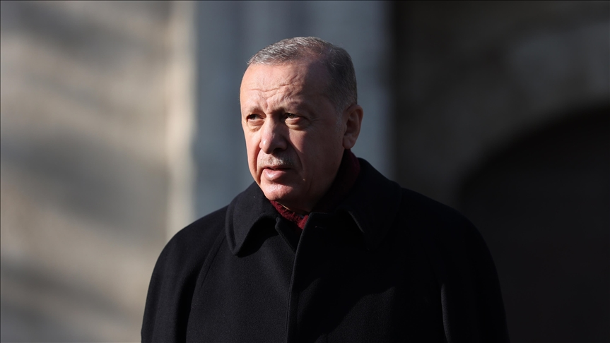 Turkish president says he can get COVID-19 vaccine