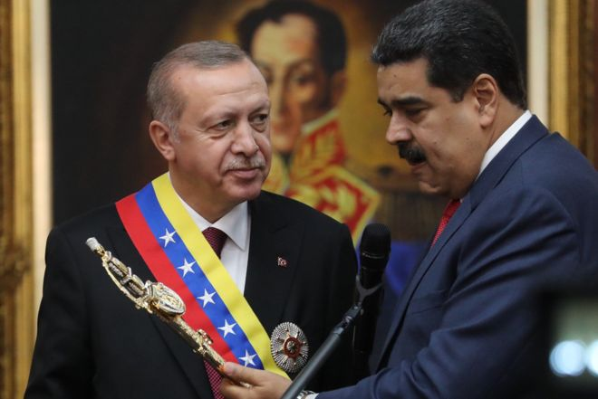 Turkish state bank ceases trade with Venezuelan central bank after U.S. tightens sanctions
