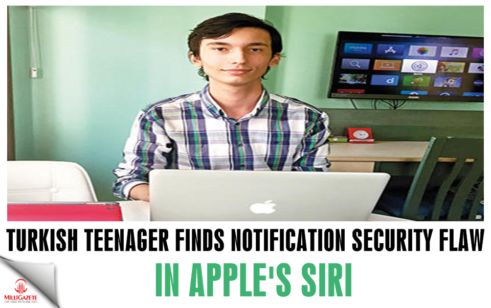Turkish teenager finds notification security flaw in Apple's Siri, gets $2,000 reward