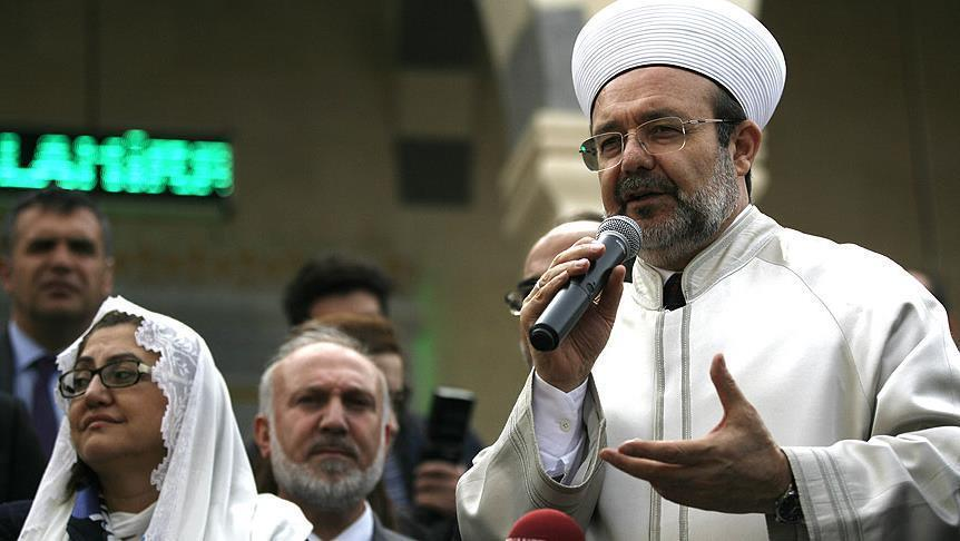 Turkish Top Cleric: Anti-Adhan bill is a denial of Islam and Muslim's existence