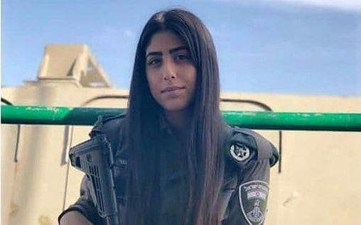 Turkish woman fights against Hamas on Israeli side