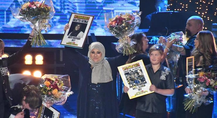 Turkish woman named Swedens 'hero of the year'