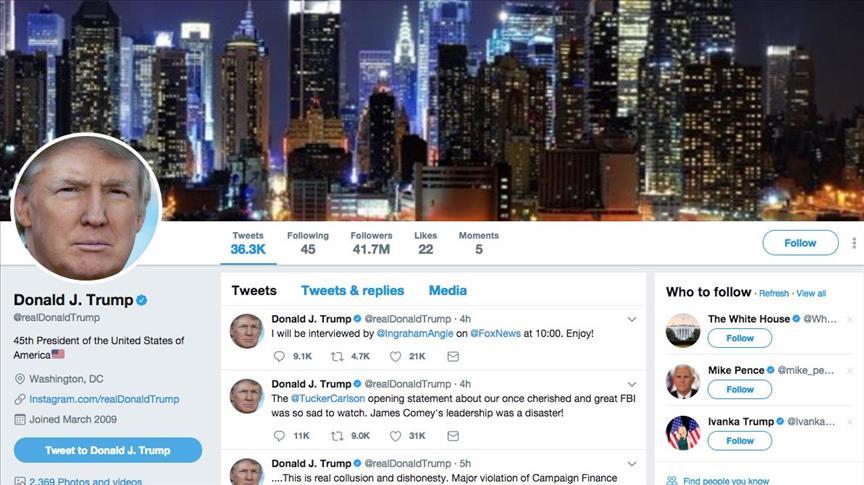 Twitter employee shut down Trumps account