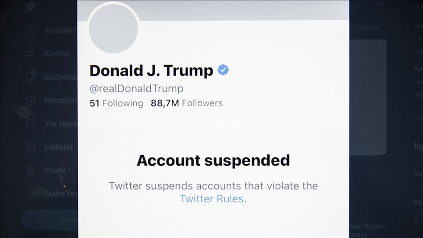 Twitter permanently suspends Trumps account