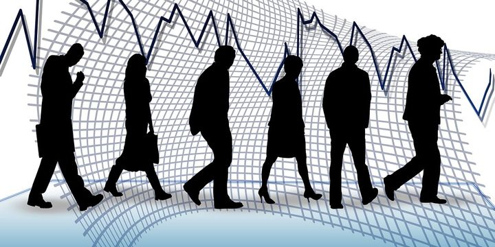 Unemployment rate rose by 4.1 points to 14.7