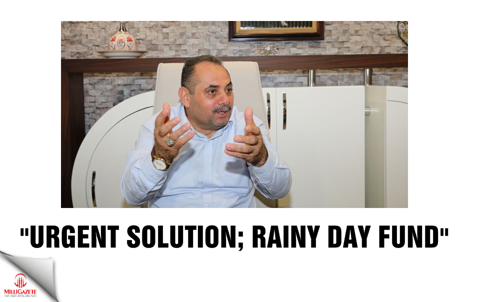 """Urgent solution; rainy day fund"""