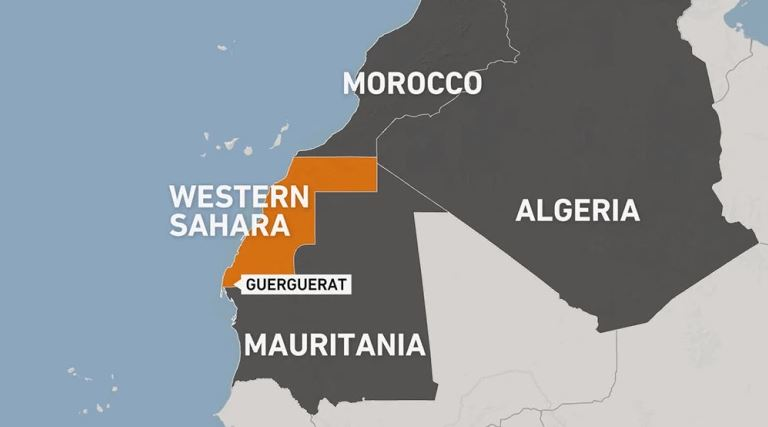 US adopts map of Morocco that includes disputed Western Sahara