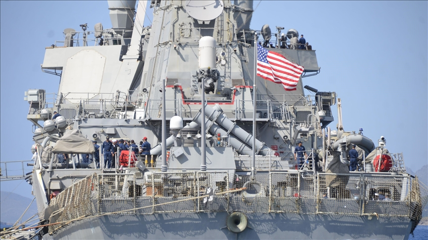 US cancels passage of its warships through straits