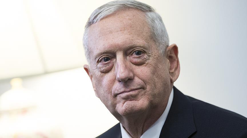 US defense secretary James Mattis in Iraq