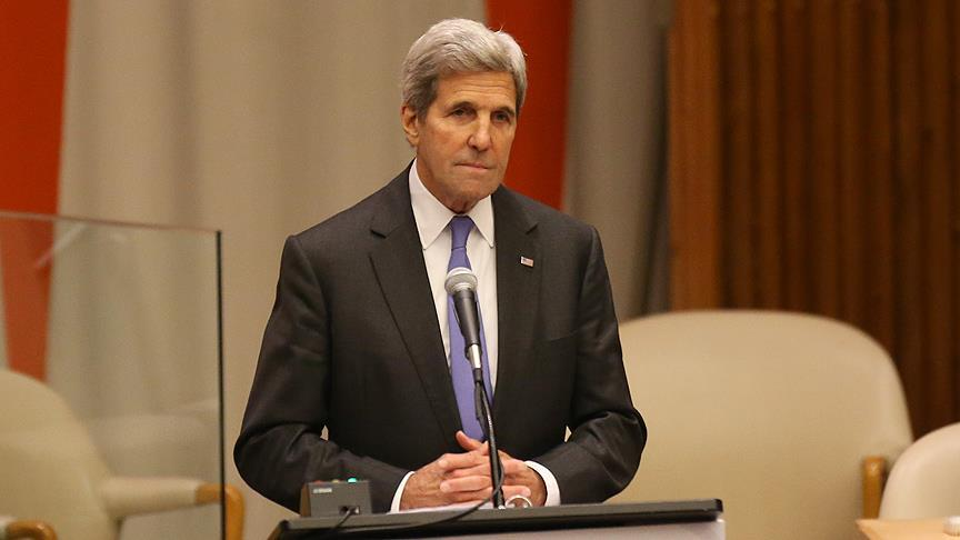 US' Kerry criticizes Israel`s settlements policy