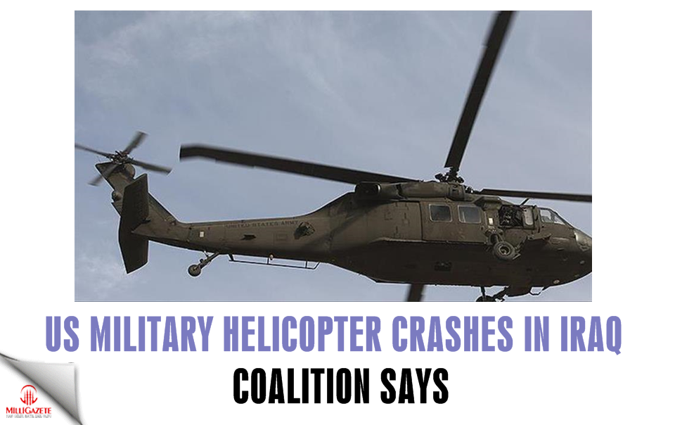US military helicopter crashes in Iraq: Coalition