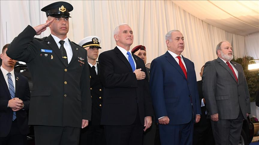 US' Pence starts Israel visit with Netanyahu meeting