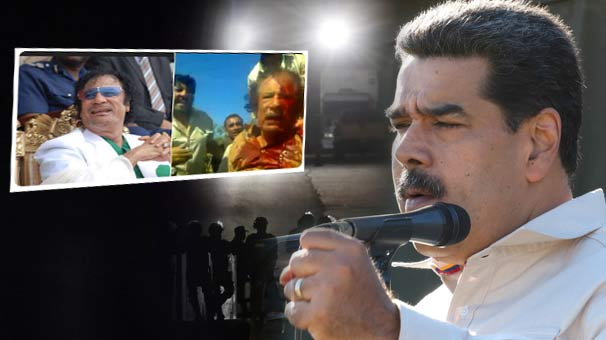 US Senator Rubio tweets picture of Gaddafi's murder as a threat to Maduro