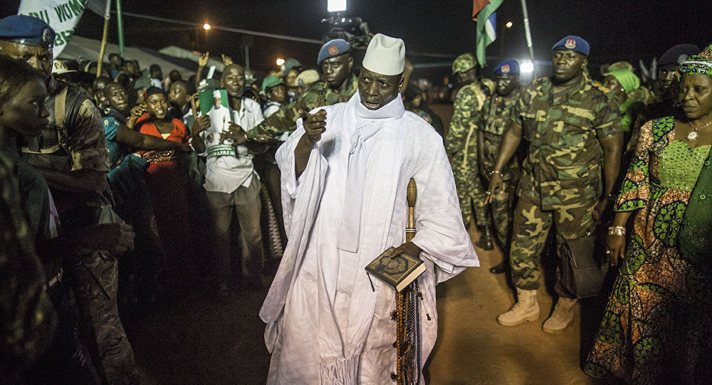 US supports Senegal military intervention in Gambia