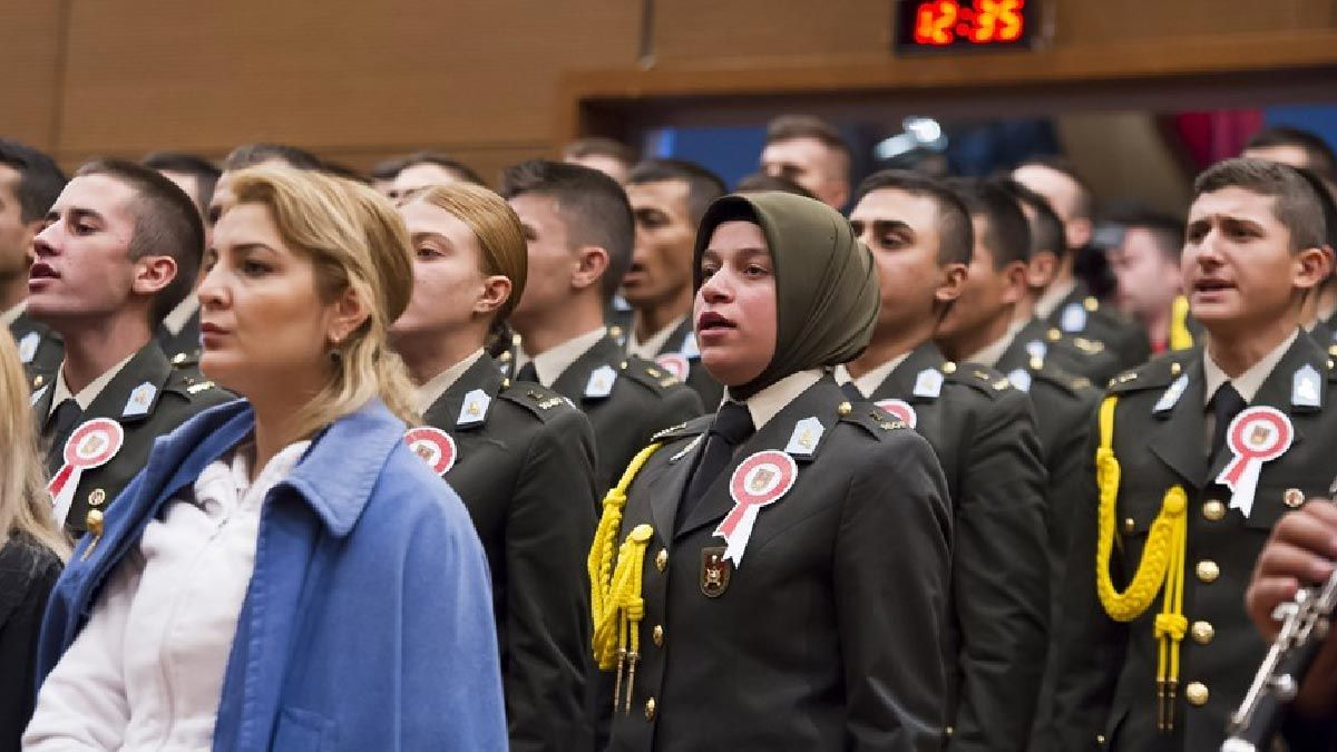 Visa for headscarf in the Turkish Armed Forces from the Council of State