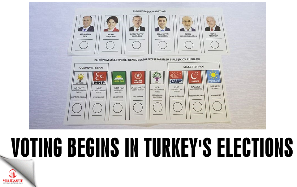 Voting begins in Turkey's elections