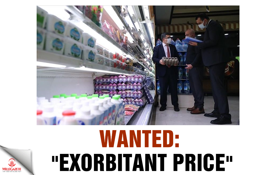 "Wanted: ""Exorbitant price"""