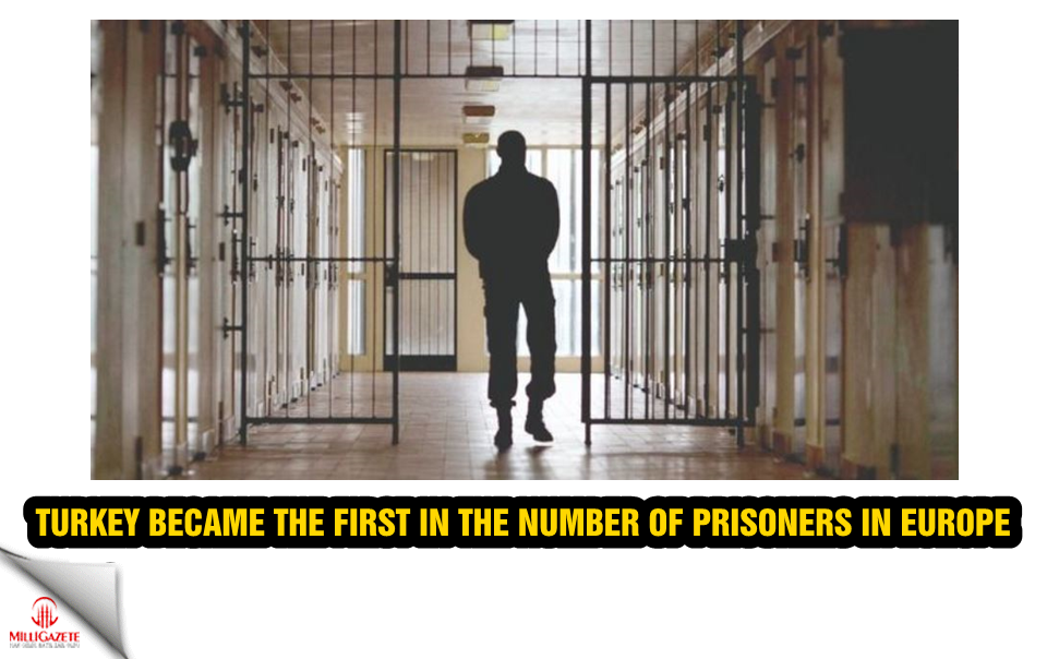 We became the first in Europe in the number of prisoners